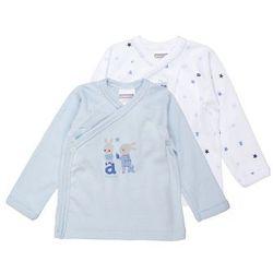Absorba BRASSIERE CACHECOEUR ESSENTIELS GARCON BABY 2 PACK Podkoszulki bleu moyen