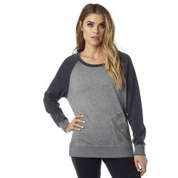 bluza FOX - Angled Po Crew Heather Grey (040)