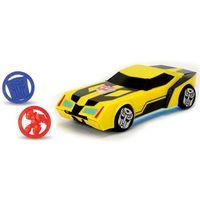 Pozostałe zabawki, Simba Transformers Bumblebee Z Wyrzutnią Żółty Światło Dźwięk 203114003