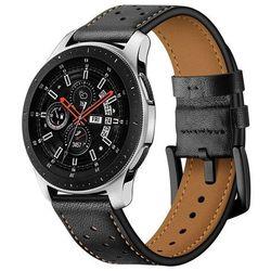 Pasek Skórzany Leather do Galaxy Watch 3 45mm Black