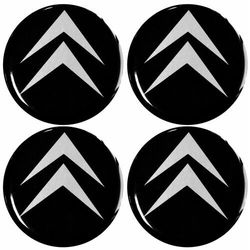 Emblematy 56 mm na felgi do CITROEN (zamienniki)