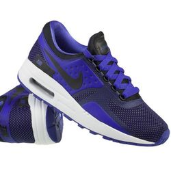 Nike Sportswear AIR MAX ESSENTIAL Tenisówki i Trampki black/paramount blue/binary bluewhite