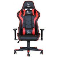 Fotele dla graczy, Fotel GEMBIRD Scorpion GC-SCORPION-03 Czarno-czerwony