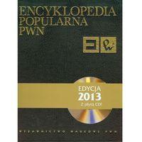 Słowniki, encyklopedie, Encyklopedia popularna PWN + płyta CD (opr. twarda)