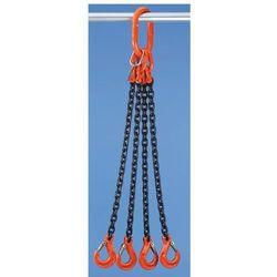Łańcuch zawieszany HIT - klasa jakości 10, 4-cięgnowe, gr. łańcucha 6 mm, dł. uż