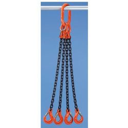 Łańcuch zawieszany HIT - klasa jakości 10, 4-cięgnowe, gr. łańcucha 8 mm, dł. uż