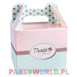 """Pudełko na ciasto, słodycze """"Thank You"""""""