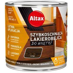 Lakierobejca szybkoschnąca do wnętrz Altax wenge 0,25 l