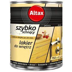 Lakier szybkoschnący Altax bezbarwny połysk 0,75 l