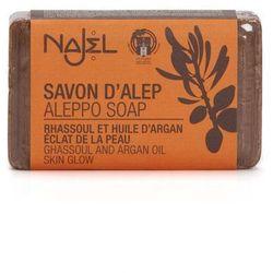 Najel Mydło Aleppo z glinką rhassoul i olejkiem arganowym 100g