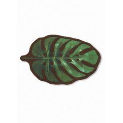 """Wycieraczka """"Liść"""" bonprix zielony"""