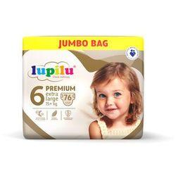 LUPILU® Pieluchy PREMIUM 6 Extra large (15+ kg) 76 sztuk
