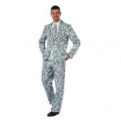 Kostium dla dorosłych Rockefeller, garnitur w dolary