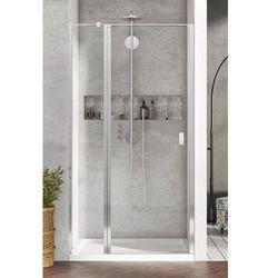 Radaway Nes DWJ II Drzwi wnękowe 110 cm lewe, szkło przejrzyste, wys. 200 cm. 10036110-01-01L