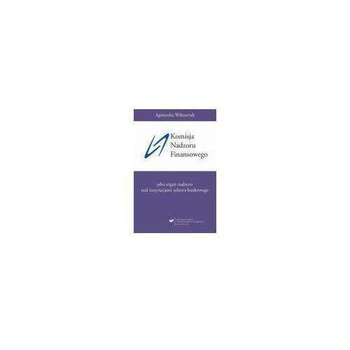 E-booki, Komisja Nadzoru Finansowego jako organ nadzoru nad instytucjami sektora bankowego