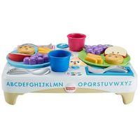 Pozostałe zabawki edukacyjne, Zabawka FISHER PRICE Stoliczek Dobrych Manier + DARMOWY TRANSPORT!