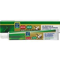 Pasta do zębów z miodem Manuka MGO™ 400+, propolisem BIO30™ i olejkiem Manuka (100 g) - Manuka Health