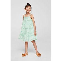 Mango Kids - Sukienka dziecięca Nessy 110-164 cm