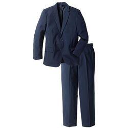 Garnitur (2 części): marynarka + spodnie bonprix ciemnoniebieski