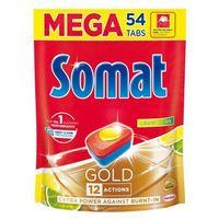 Kostki do zmywarek, Somat Gold Lemon & Lime Tabletki do mycia naczyń w zmywarkach 1036,8 g (54 x 19,2 g)
