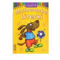 Książki dla dzieci, Malowanka - Literki cz. 6 LITERKA (opr. miękka)