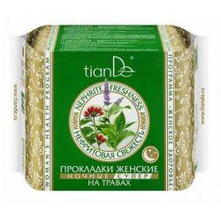 TianDe Wkładki higieniczne Nefrytowa świeżość na bazie ziół, na noc. 61913