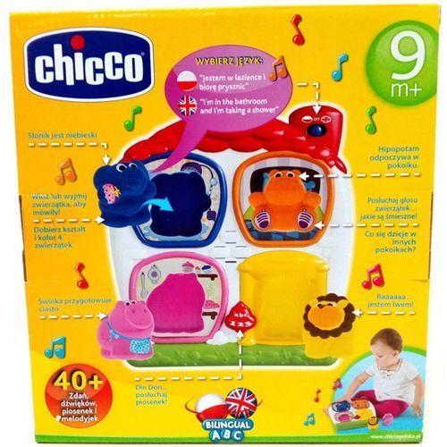 Pozostałe zabawki dla najmłodszych, Chicco, zabawka interaktywna Domek