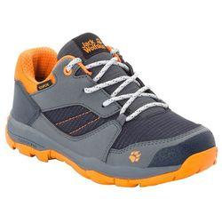 Buty trekkingowe dla dzieci MTN ATTACK 3 XT TEXAPORE LOW K ebony / orange - 34