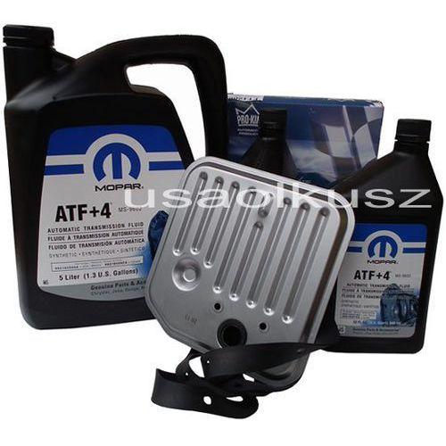 Oleje przekładniowe, Olej MOPAR ATF+4 6,89l oraz filtr skrzyni biegów Dodge Dakota 1998-2003