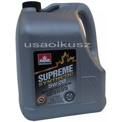 Olej silnikowy syntetyczny SUPREME Petro Canada 5W20 4l