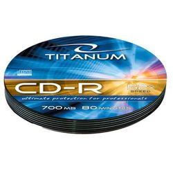 Esperanza CD-R TITANUM 700MB/80min-Soft Pack 10 52X Darmowy odbiór w 16 miastach!
