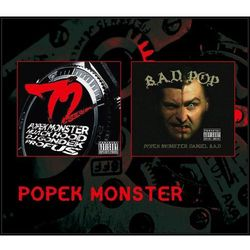 Popek Monster: 72 Hours i Bad P.O.P. (CD) - Various Artists