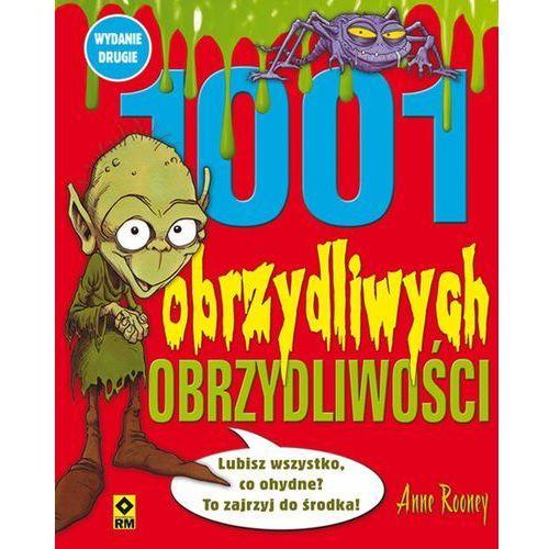 Książki dla dzieci, 1001 obrzydliwych obrzydliwości (opr. broszurowa)