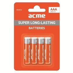 ACME Europe Baterie alkaliczne LR03 AAA (4 sztuki)