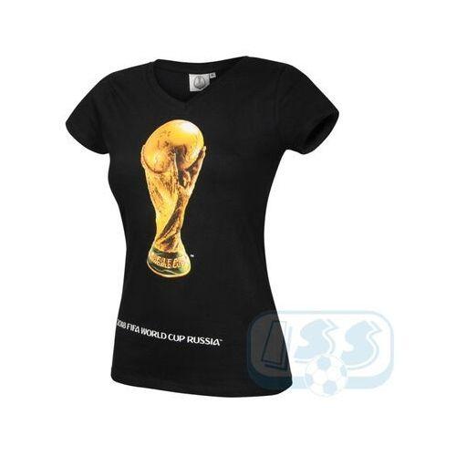 T-shirty damskie, DWCR47w: Mistrzostwa Świata Rosja - t-shirt damski World Cup 2018