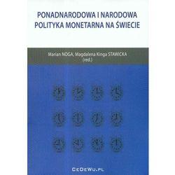 Ponadnarodowa i narodowa polityka monetarna na świecie (opr. miękka)