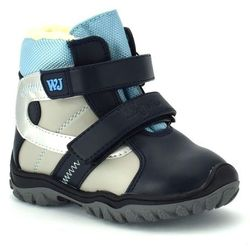 Buty zimowe dla dzieci Wojtyłko 20088 - Niebieski ||Granatowy