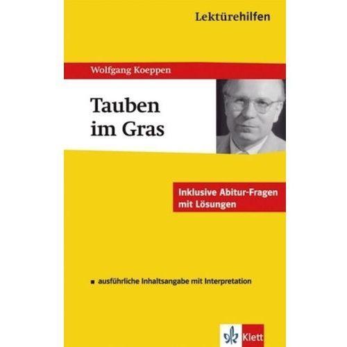 Pozostałe książki, Lektürehilfen Wolfgang Koeppen 'Tauben im Gras' Reisner, Hanns-Peter