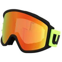 Kaski i gogle, UVEX g.gl 3000 CV Gogle, black mat/Colorvision orange storm 2019 Gogle narciarskie