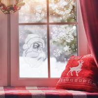 Szablony do malowania, 5szt. szablonów wielokrotnych do sztucznego śniegu #1