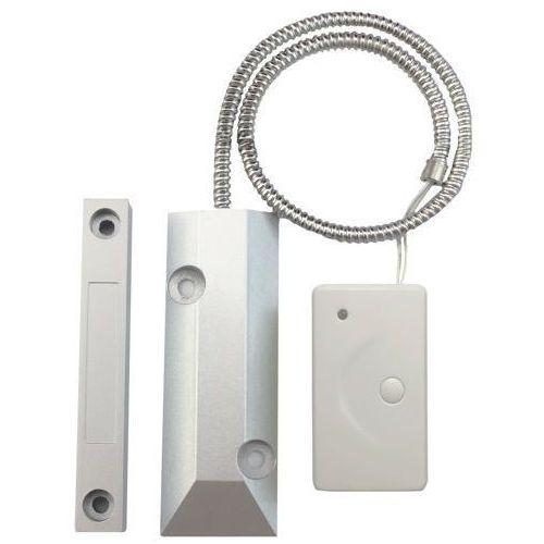 Czujki alarmowe, bezprzewodowy magnetyczny czujnik otwarcia bramy garażowej ( kontaktron do bramy) E01COB