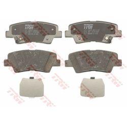 Zestaw klocków hamulcowych, hamulce tarczowe TRW GDB3494