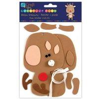 Kreatywne dla dzieci, Zestaw kreatywny - Renifer z pianki