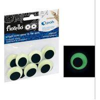 Pozostałe artykuły szkolne, Confetti oczka samoprzylepne GR-KE10-25F FIORELLO