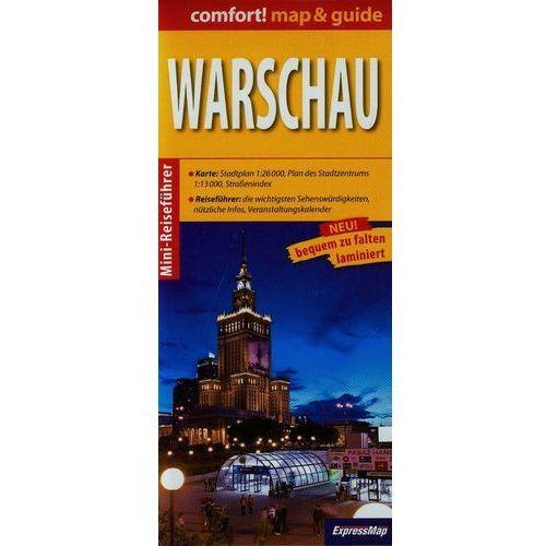 Przewodniki turystyczne, comfort! map & guide Warschau