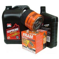 Filtr oleju FRAM PH16 oraz olej SUPREME 10W30 Dodge Stratus V6
