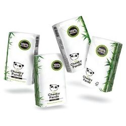 CHEEKY PANDA Bambusowe chusteczki higieniczne 8op