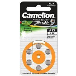 Camelion A13/DA13/ZL13, Zinc air cells, 6 pc(s)