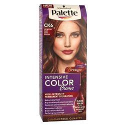 Palette Intensive Color Creme Krem koloryzujący nr CK6-delikatny rudy 1op. - Schwarzkopf