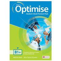 Książki do nauki języka, Optimise B1+ SB Premium MACMILLAN - Malcolm Mann, Steve Taylore-Knowles (opr. broszurowa)